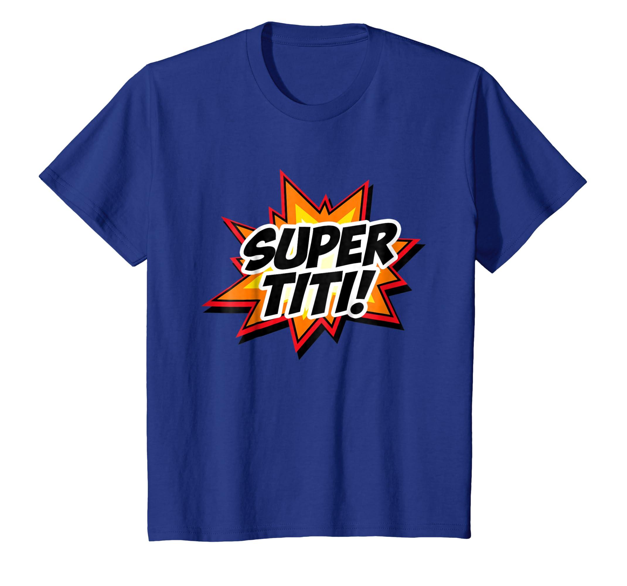 Amazon.com: Super Auntie Spanish Titi Tia Superhero Camisa Gift T-shirt: Clothing
