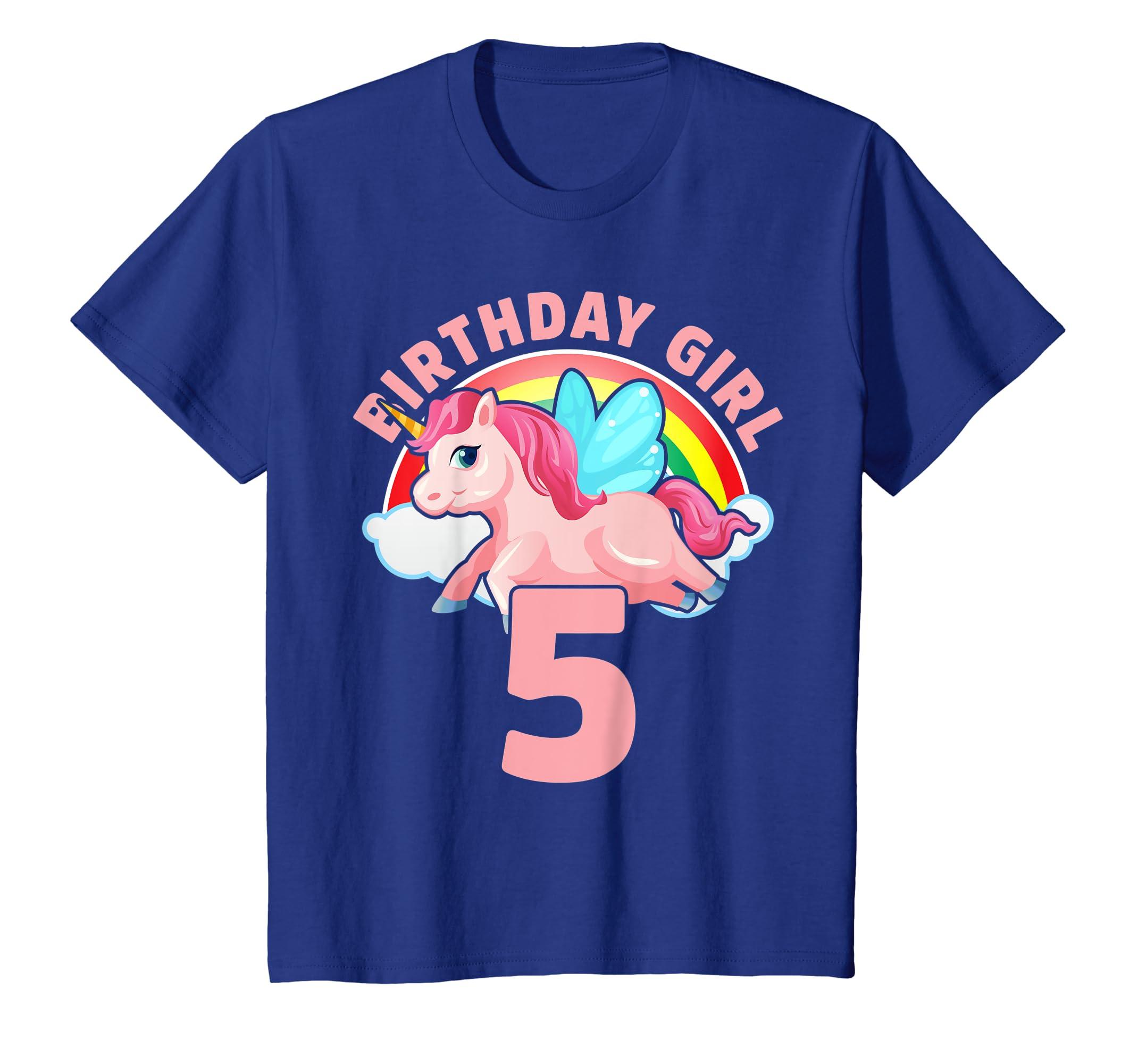 Amazon Kids 5 Year Old Birthday Outfit Girl Unicorn Gift