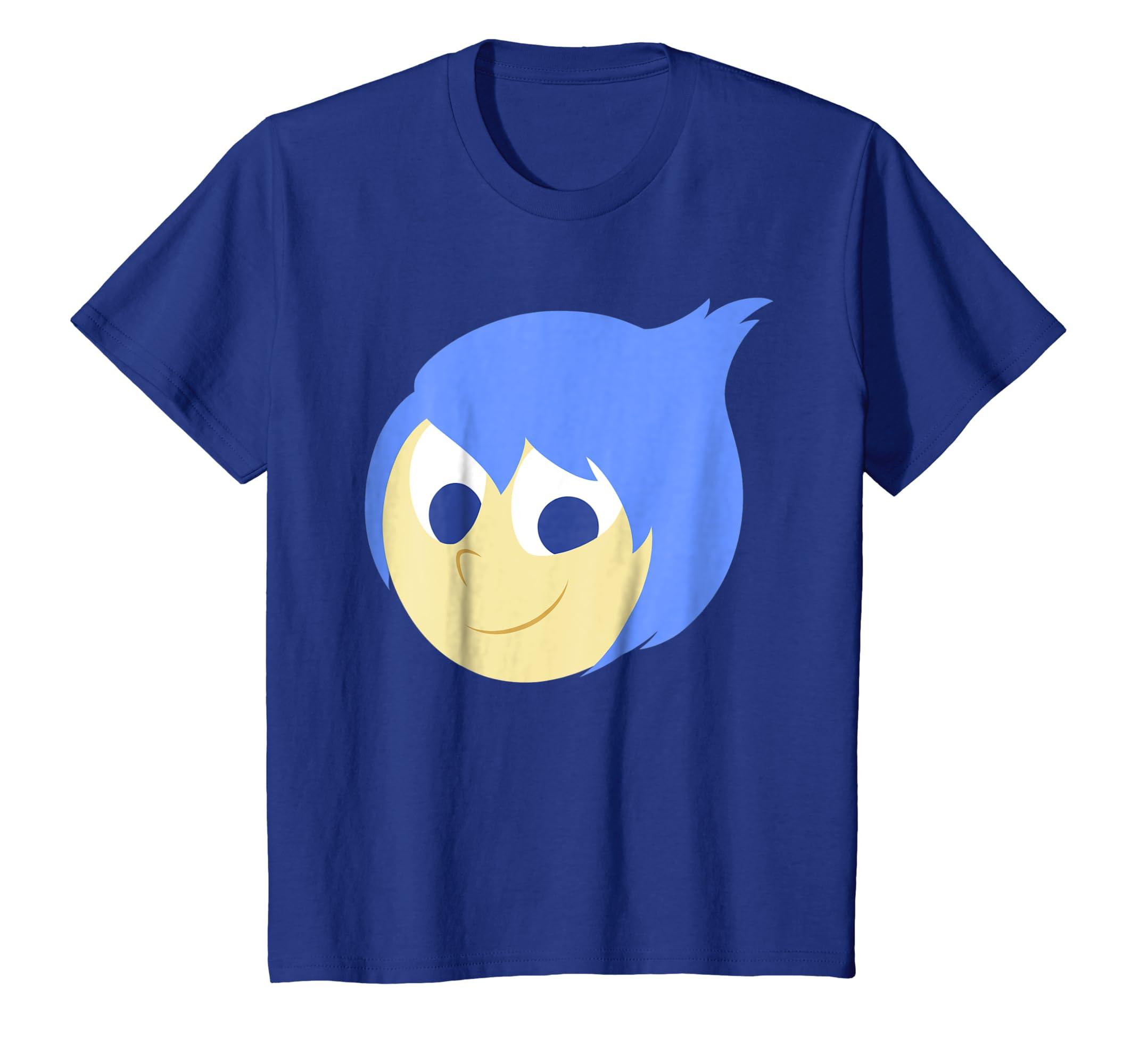 Pixar Inside Out Joy Face Halloween Graphic T Shirt-Teechatpro