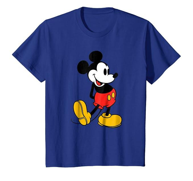 b064134f0 Amazon.com: Disney Classic Mickey Mouse T-Shirt: Clothing
