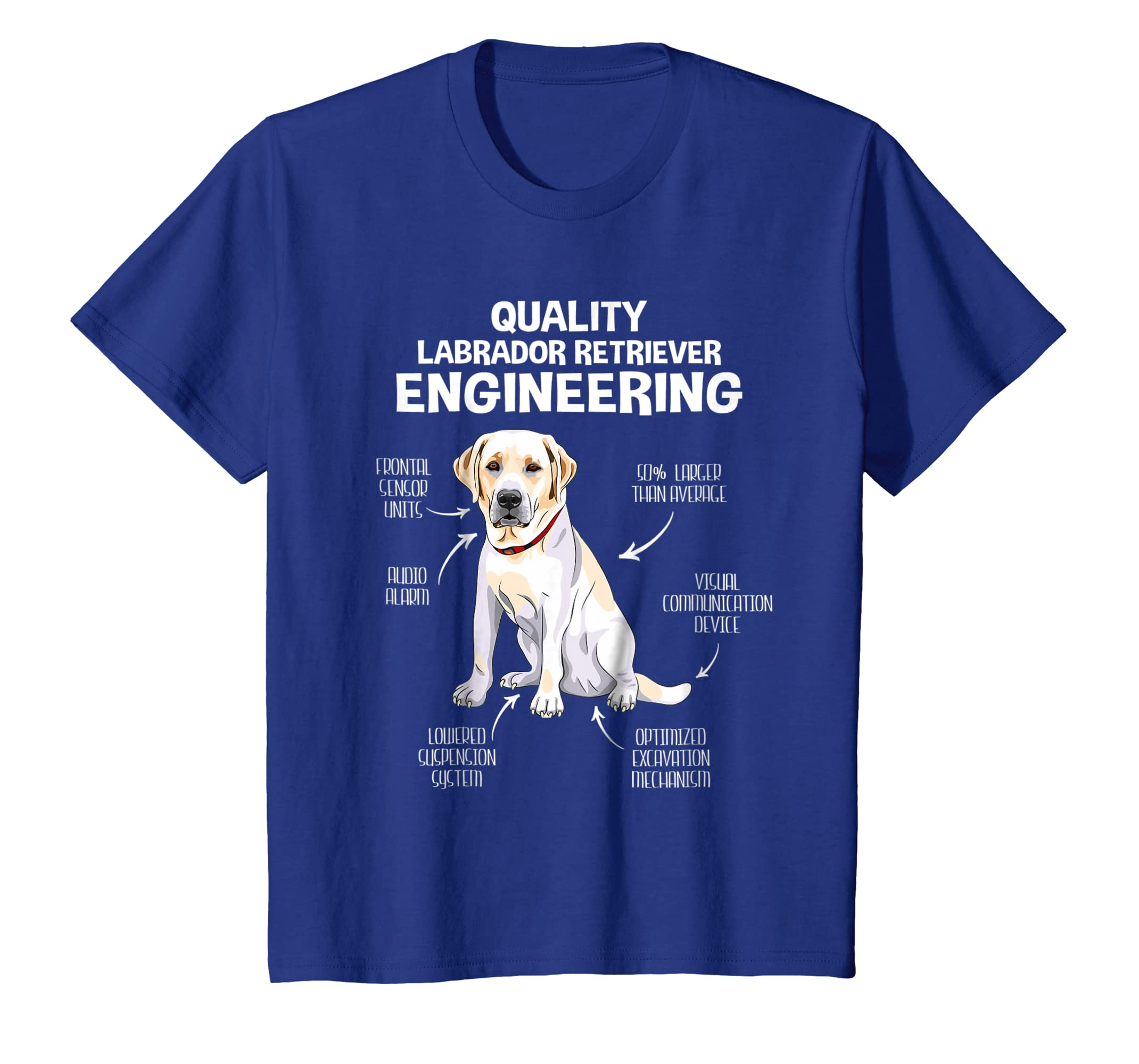 Amazon.com: Quality Labrador Retriever Engineering Dog Lover ...