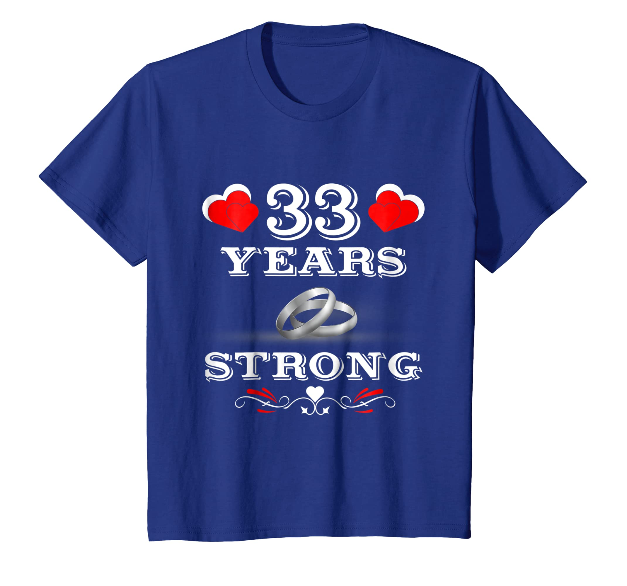 Amazon 33rd Wedding Anniversary Gifts Tee Shirts For Couples