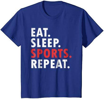 Eat Sleep Netball-Enfants Sweat à capuche Filet Balle Jeux Olympiques PLAYER SPORT Fan Sport Merch