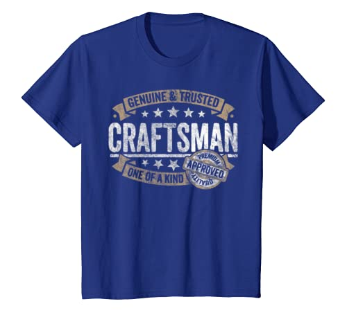 d268357f Amazon.com: Craftsman Gift Genuine Trusted Profession Job Tee Shirt:  Clothing