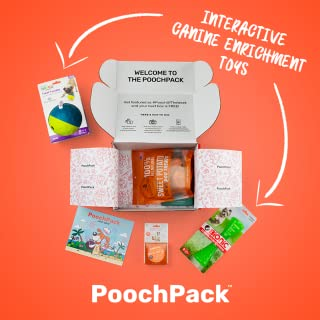 PoochPack - A monthly subscription box for canine enrichment