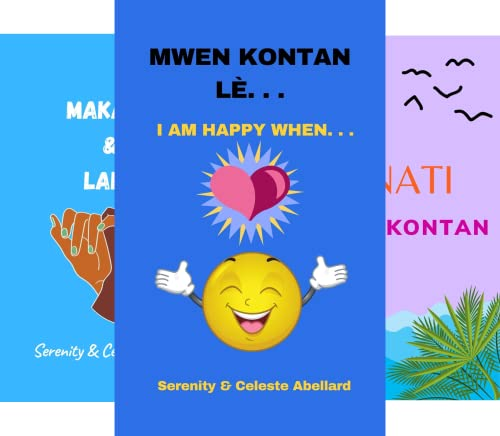 Creole -English Easy to read books for kids! (5 Book Series)