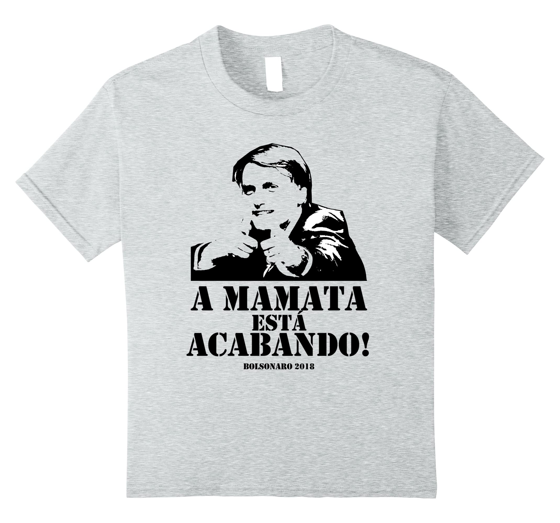 Amazon.com: Camiseta Jair Bolsonaro 2018 Presidente do Brasil t shirt: Clothing