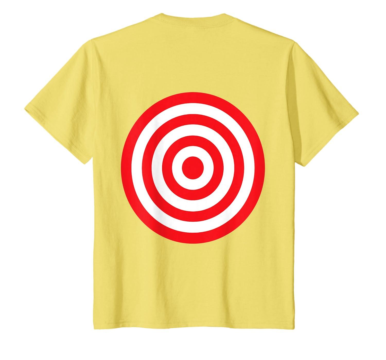 release date: 1ec19 c769f Amazon.com: (Print on Back) Fun Bullseye Target Bulls Eye ...