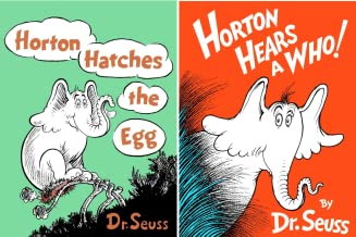 Dr. Seuss's Horton Collection Boxed set (Horton Hears a Who and Horton Hatches the Egg) (2 Book Series)