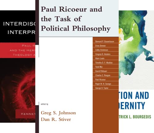 Studies in the Thought of Paul Ricoeur (21 Book Series)