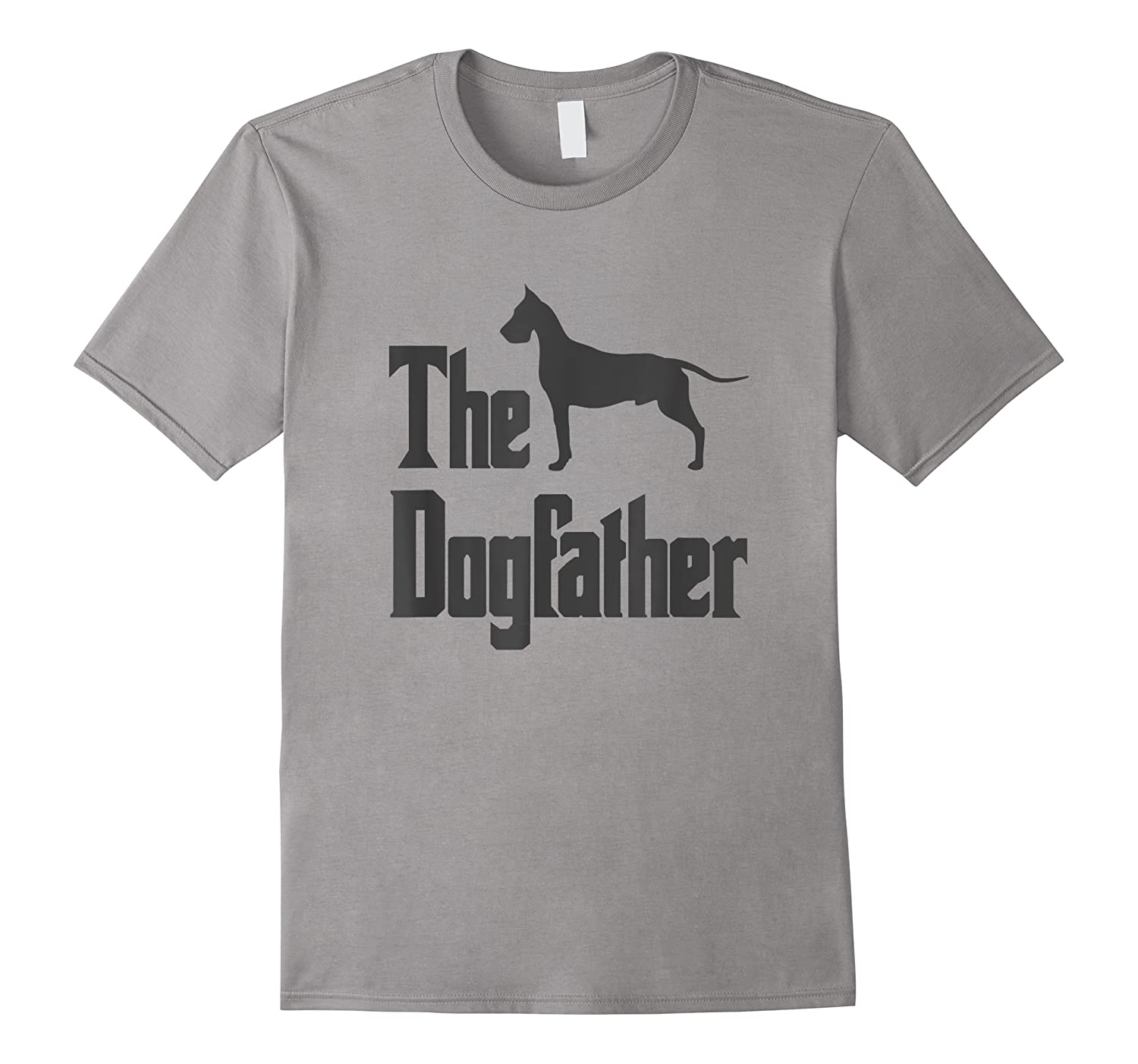 The Dogfather, Great Dane Silhouette, Funny Dog Gif Shirts