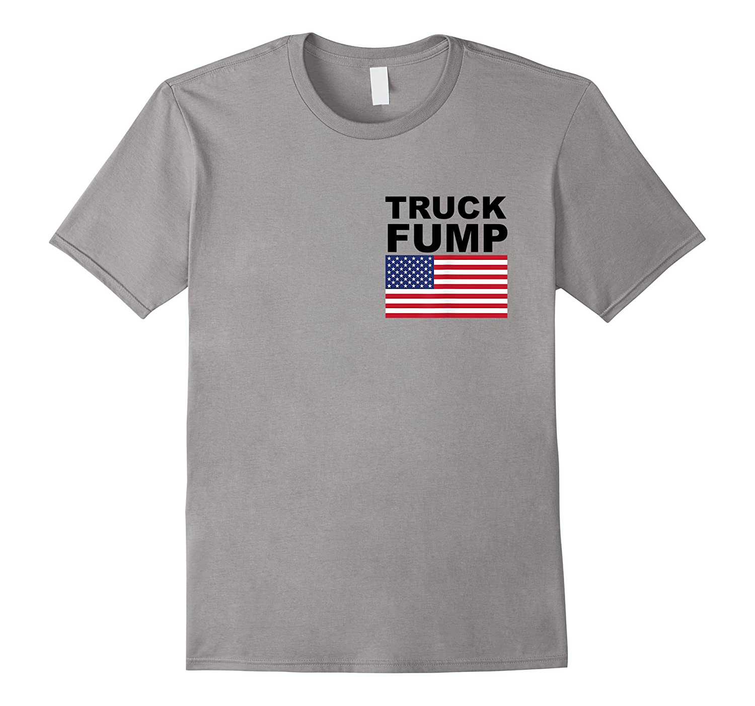 Truck Fump With American Flag Shirt For And Resist T-shirt