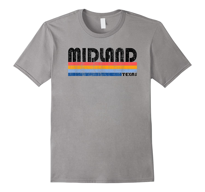 Vintage 70s 80s Style Midland, Texas T-shirt
