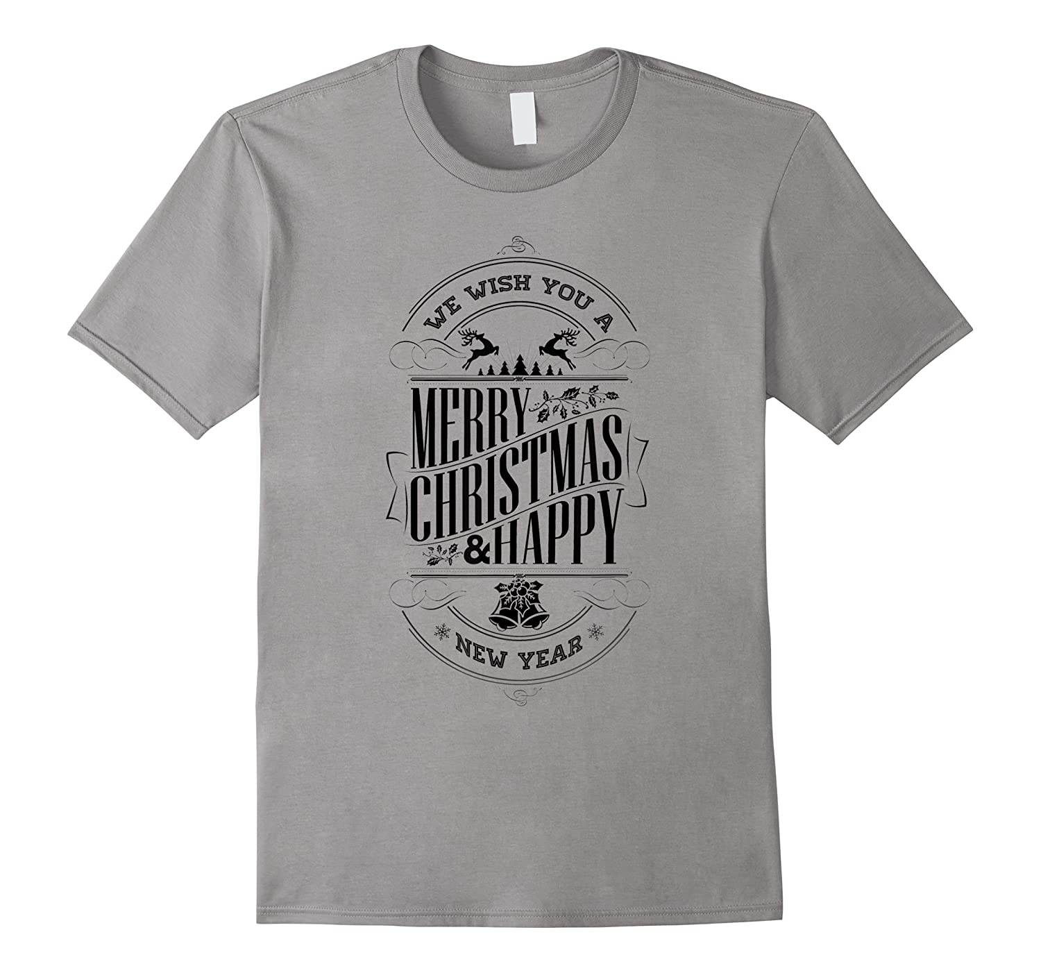 Merry Christmas And A Happy New Year Holiday Design Shirts