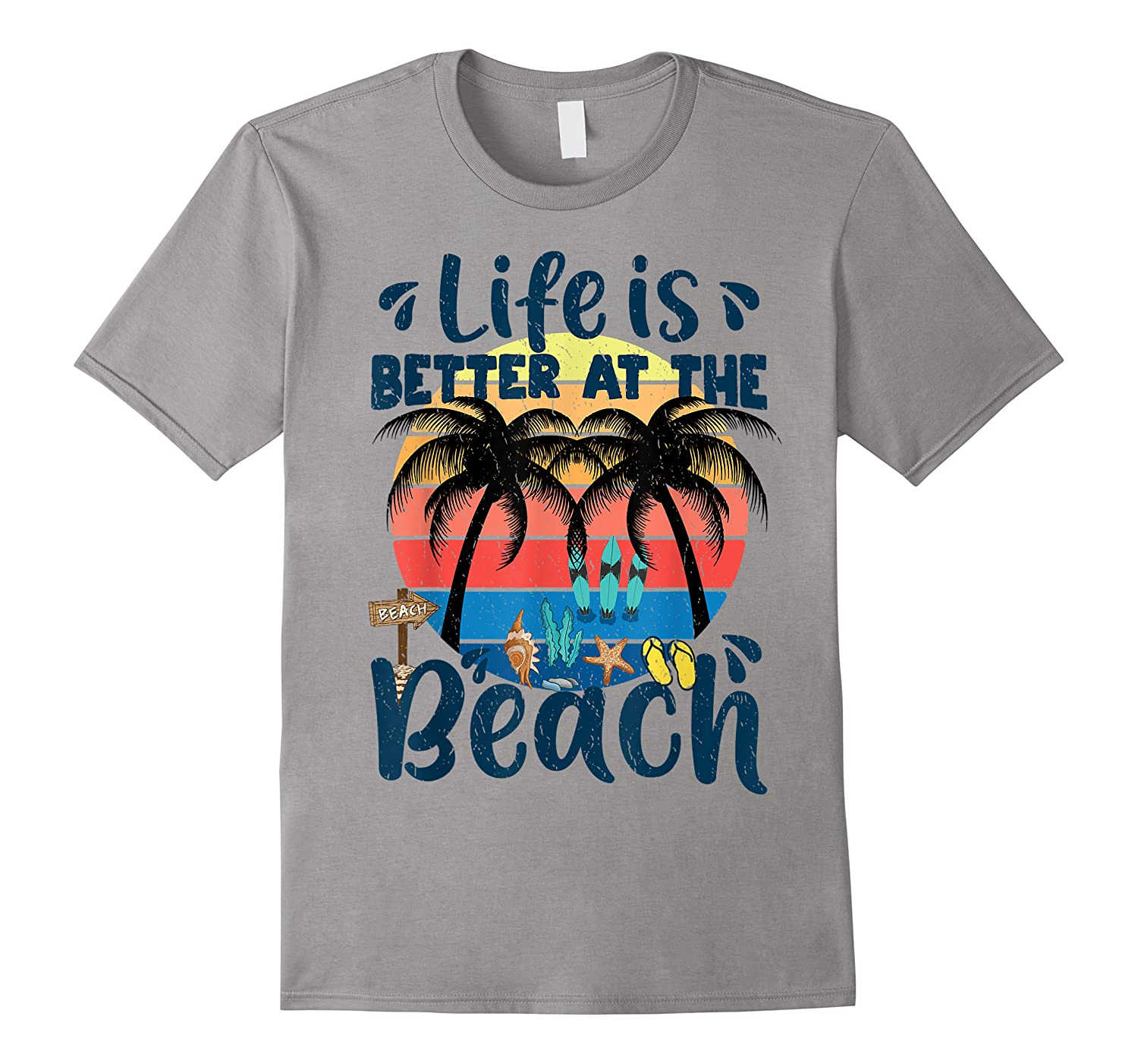 Life Is Better At The Beach Holidays Summer Vacation Ocean Shirts