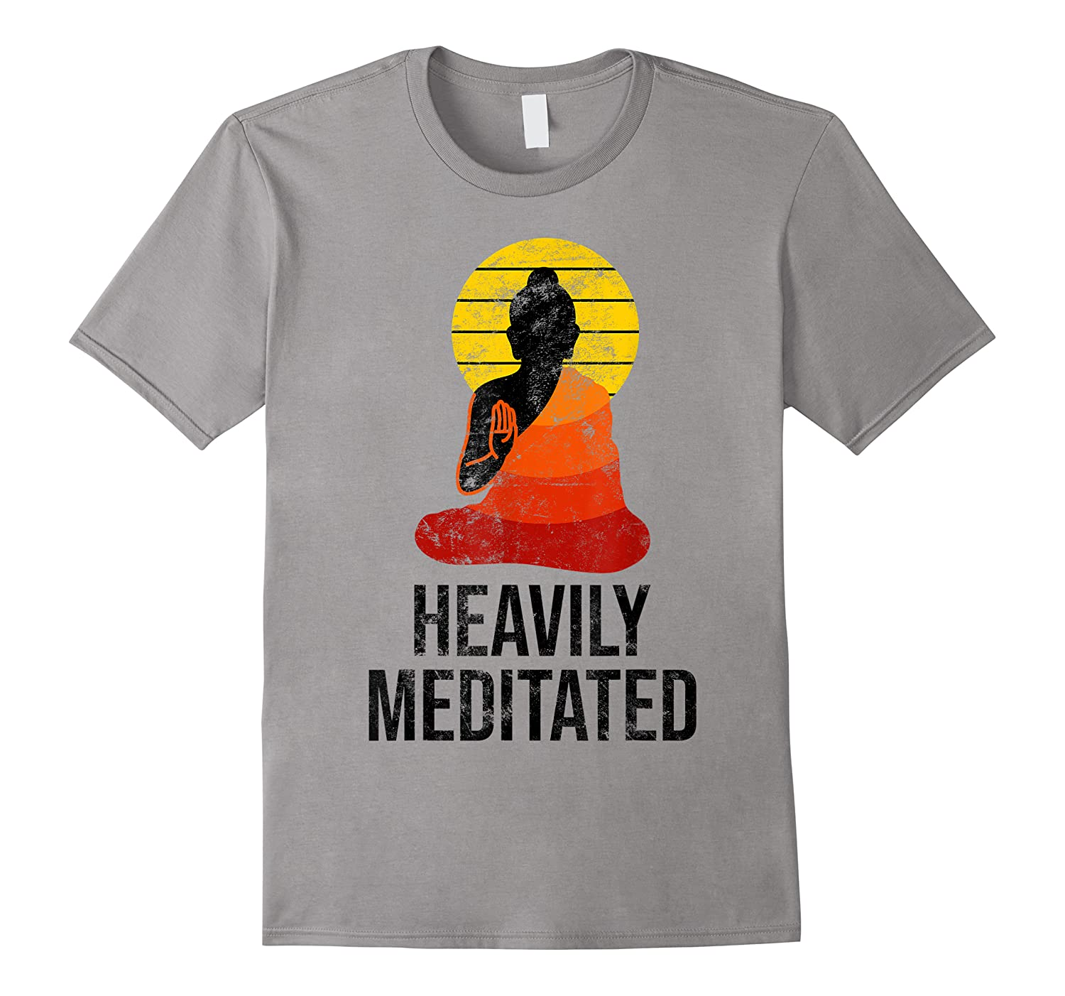 Funny Yoga Quote For Heavily Over Meditated Buddha Shirts