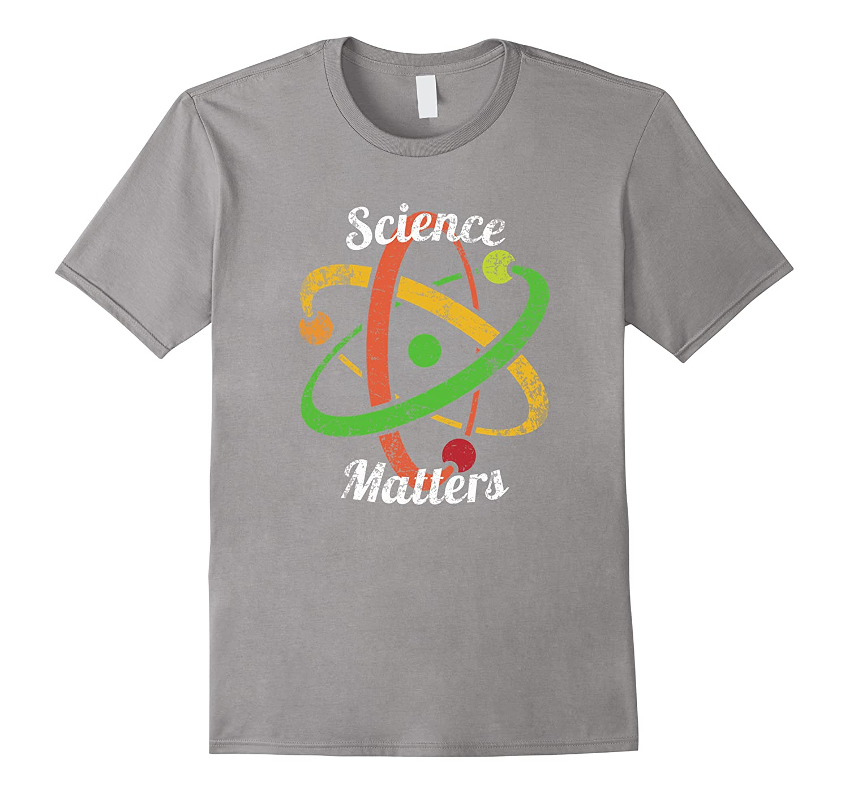 Science T-shirt March Nerd Geek Vintage Distressed Atom