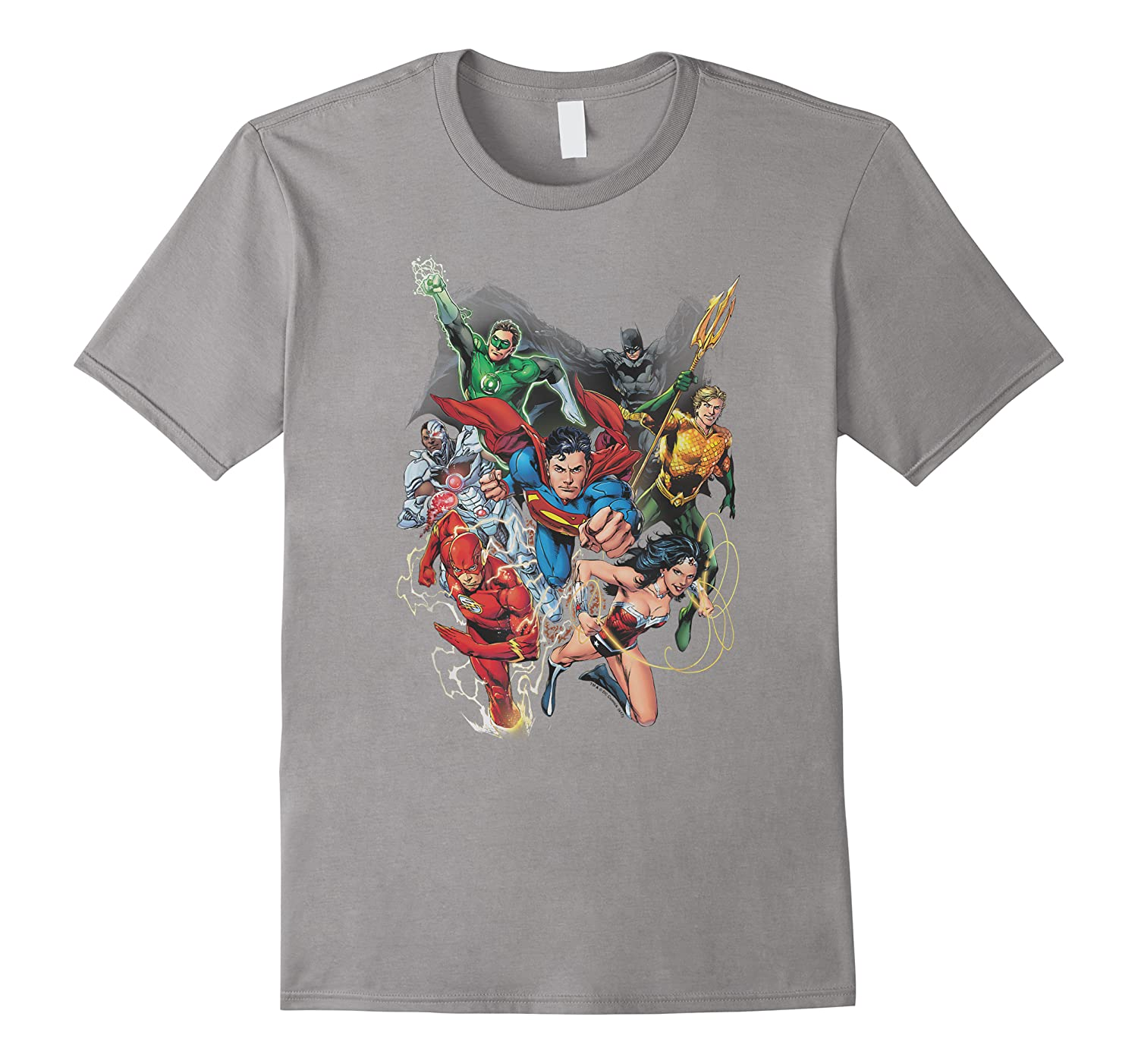 Justice League Refuse To Give Up Shirts
