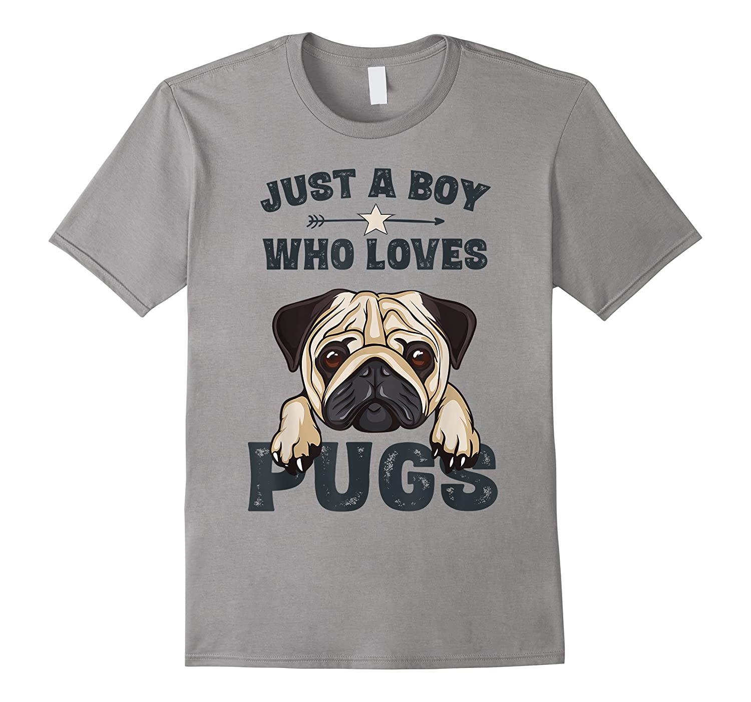 Love Pugs Funny Cute Pug Lover Saying Gift For Boys Shirts