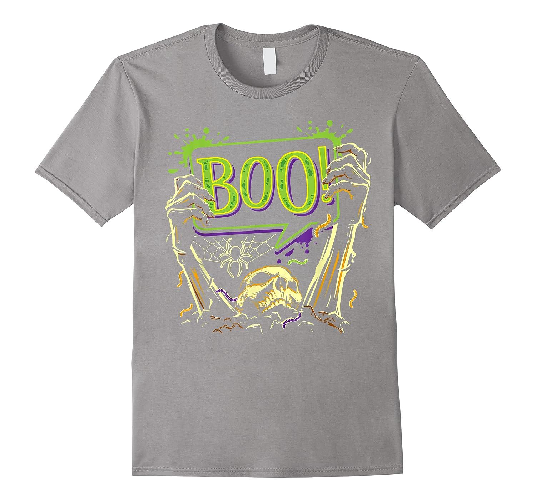 Boo Halloween  Cute Scary Horror Costume Gift Shirts