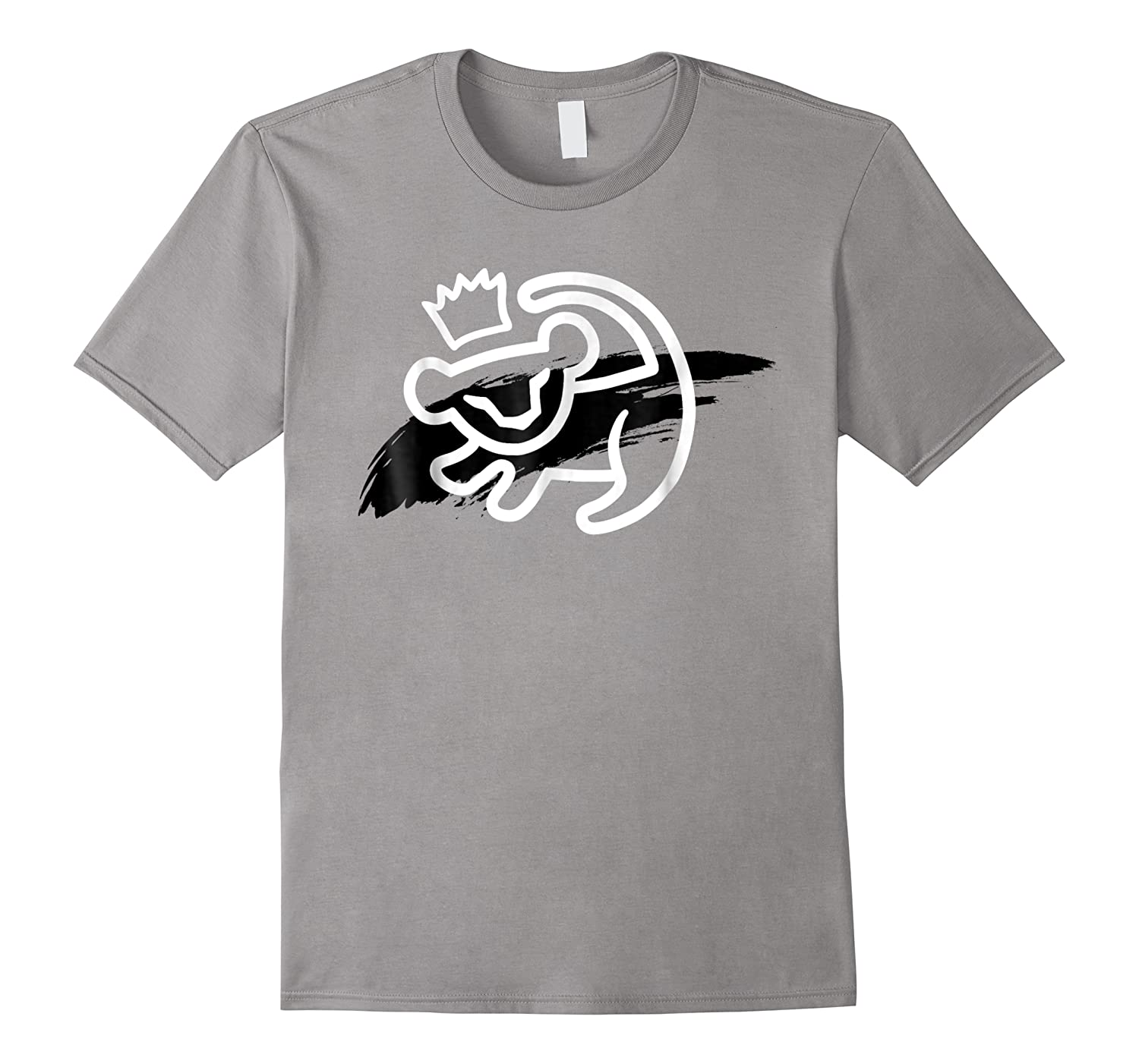 Lion King Simba Cave Painting Smear Graphic Shirts