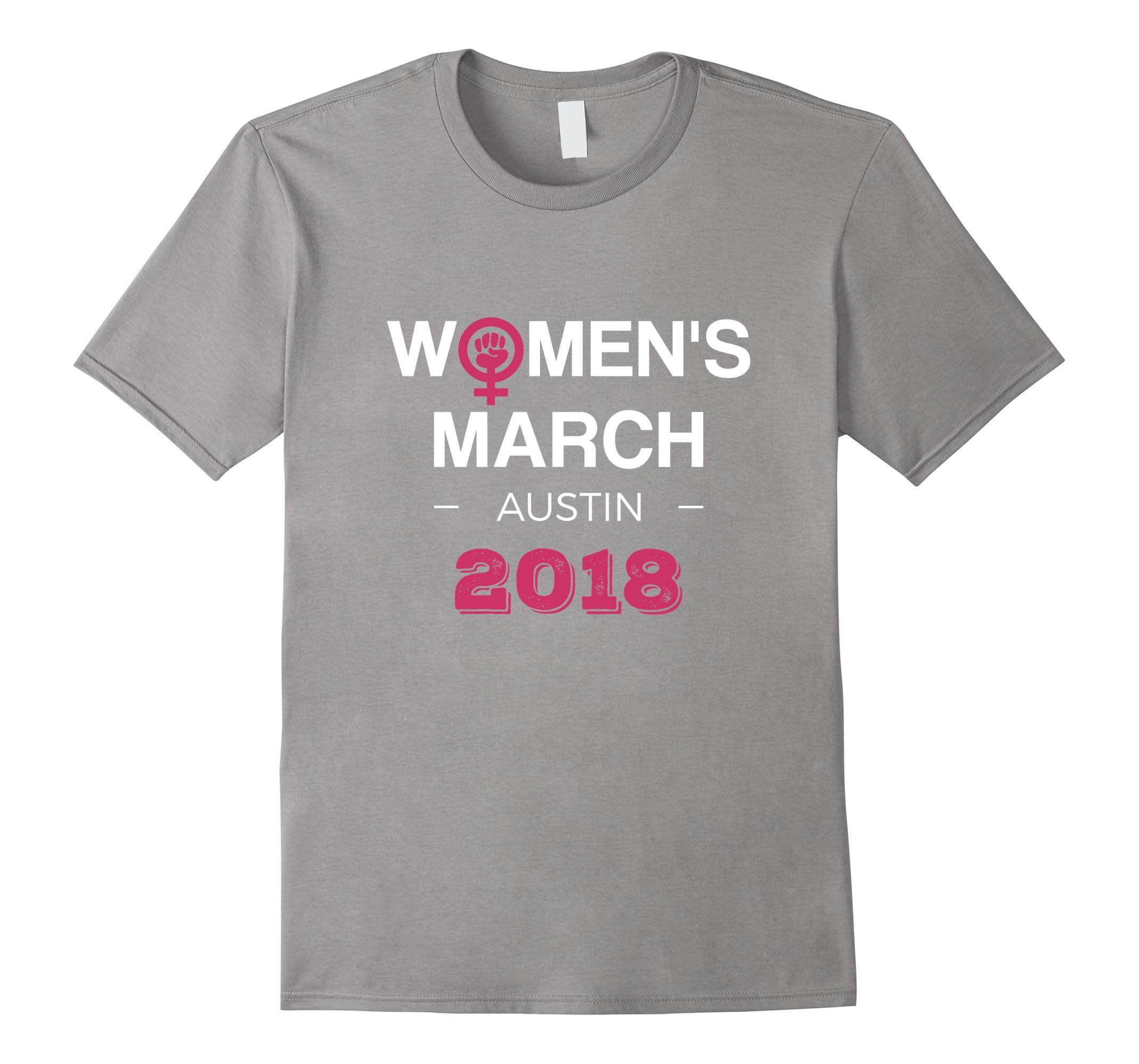 Austin Womens March 2018 T Shirt Feminism Symbol Design Ah My Shirt