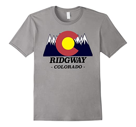 a31d7033590 Image Unavailable. Image not available for. Color  Ridgway Colorado - T- Shirt ...