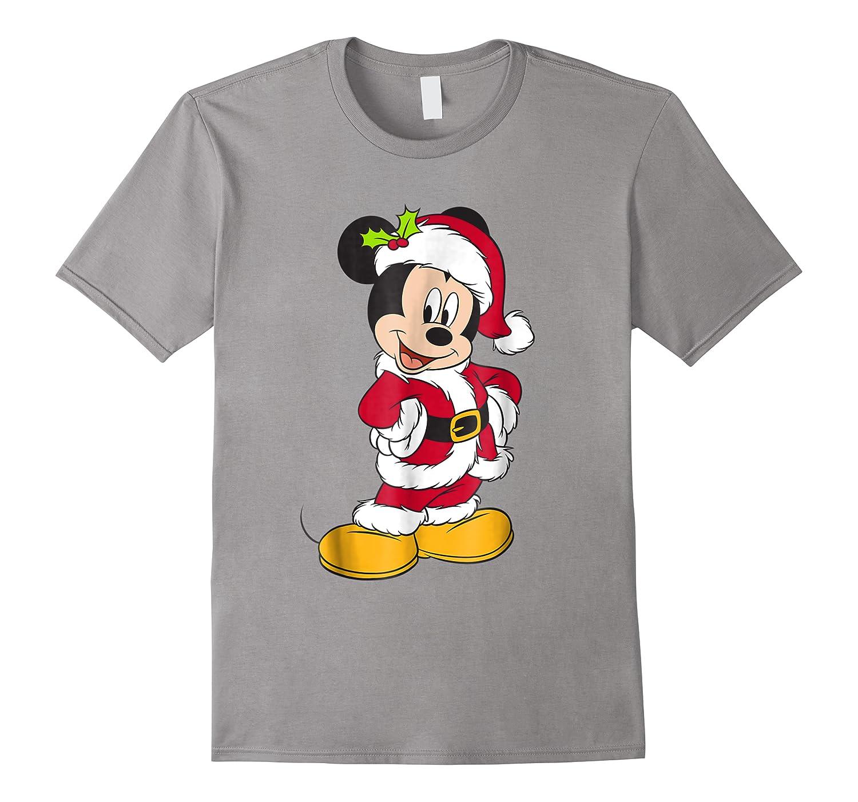 Disney Santa Mickey Mouse Holiday T-shirt
