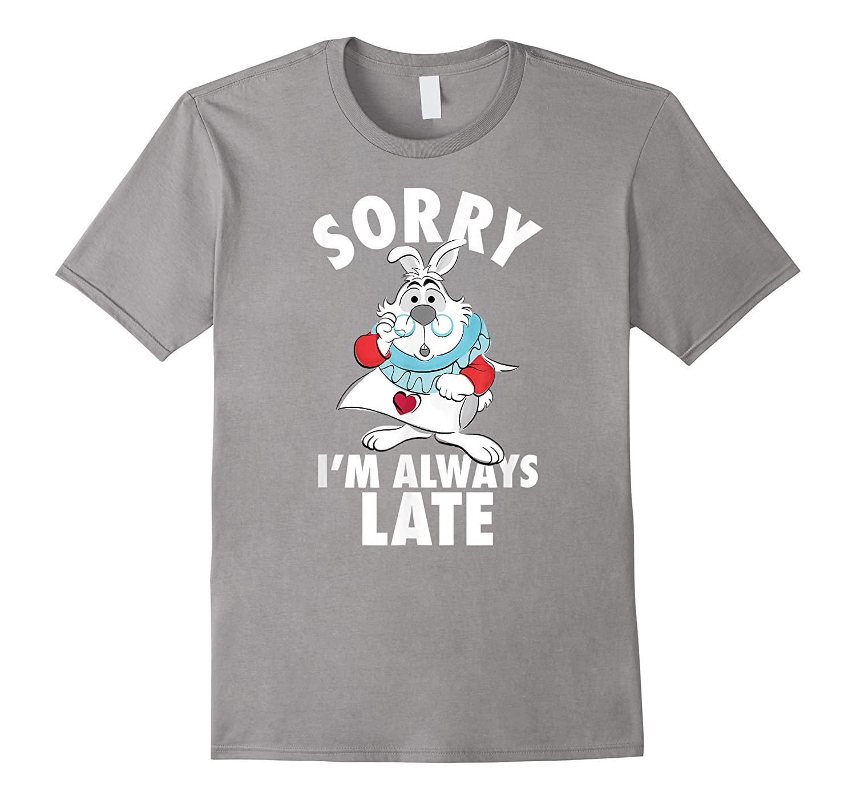 Disney Alice Always Late T Shirt