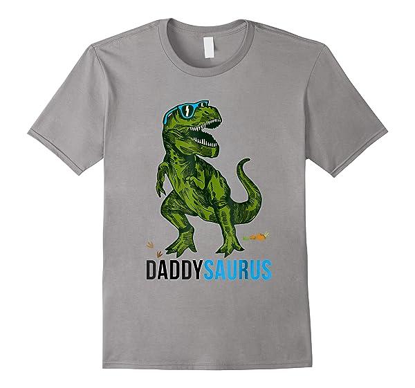Daddysaurus T Rex Daddy Saurus Dad Fathers Day Gift Shirts