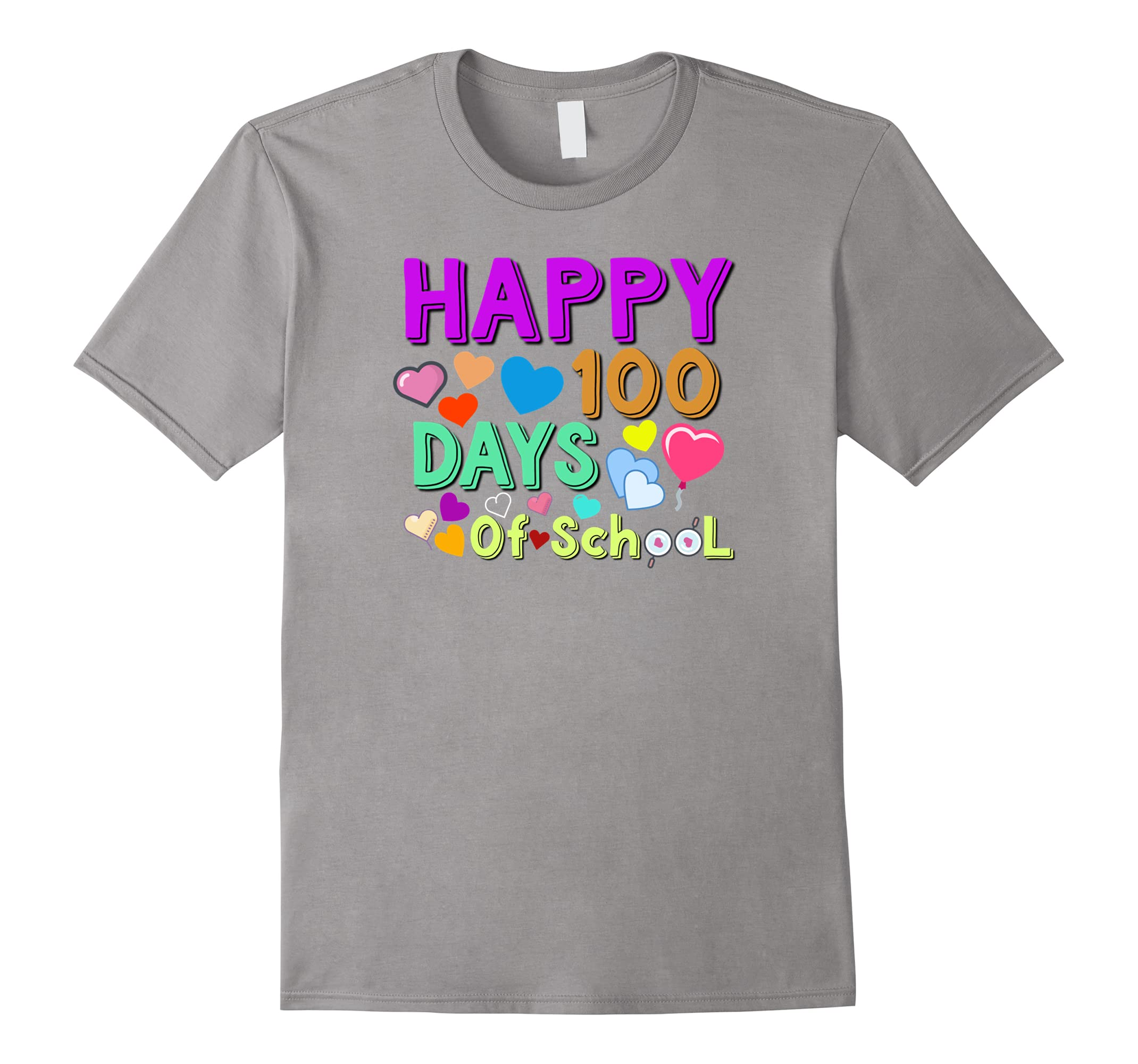 100th Day of School Shirt | Happy 100 Days Of School T-shirt-RT