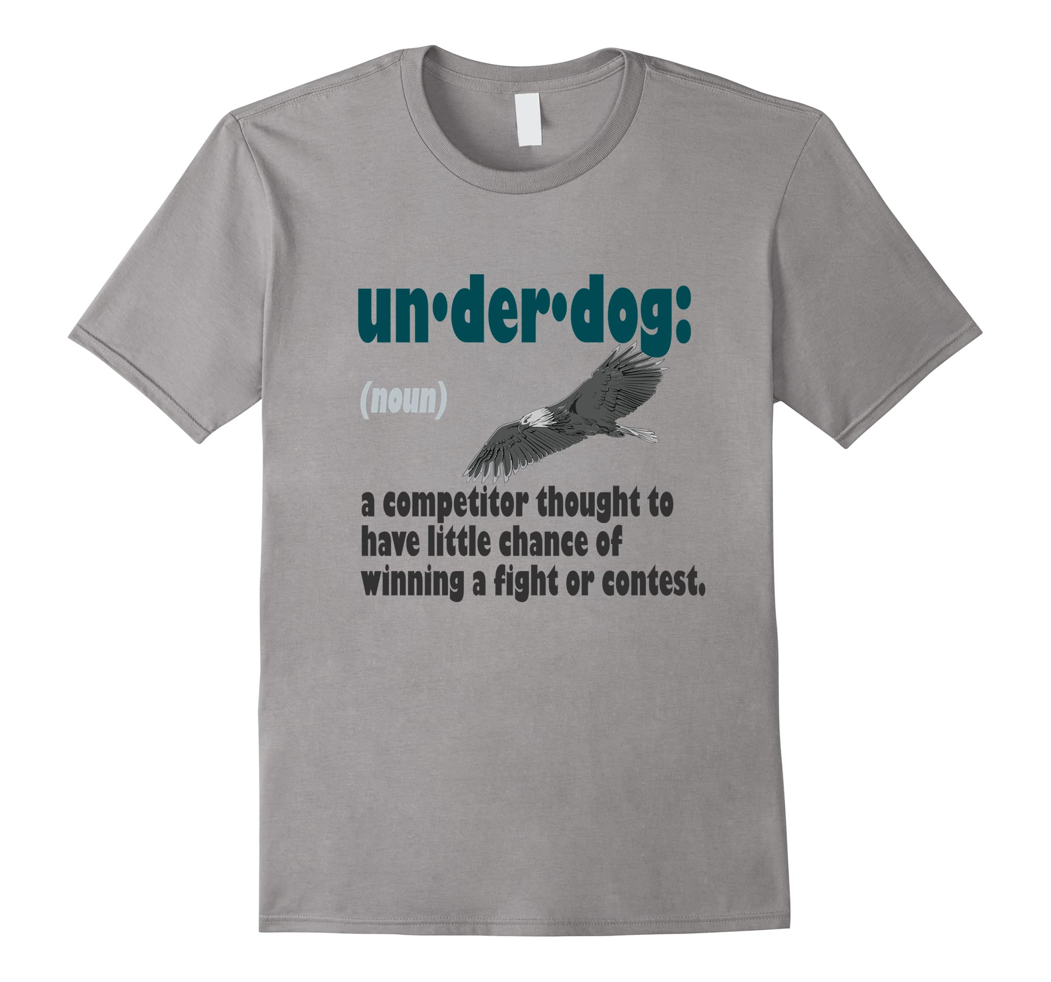 online store e7e8d 50c16 Majestic Eagle with the Definition of an Underdog T-Shirt-ah my shirt one  gift