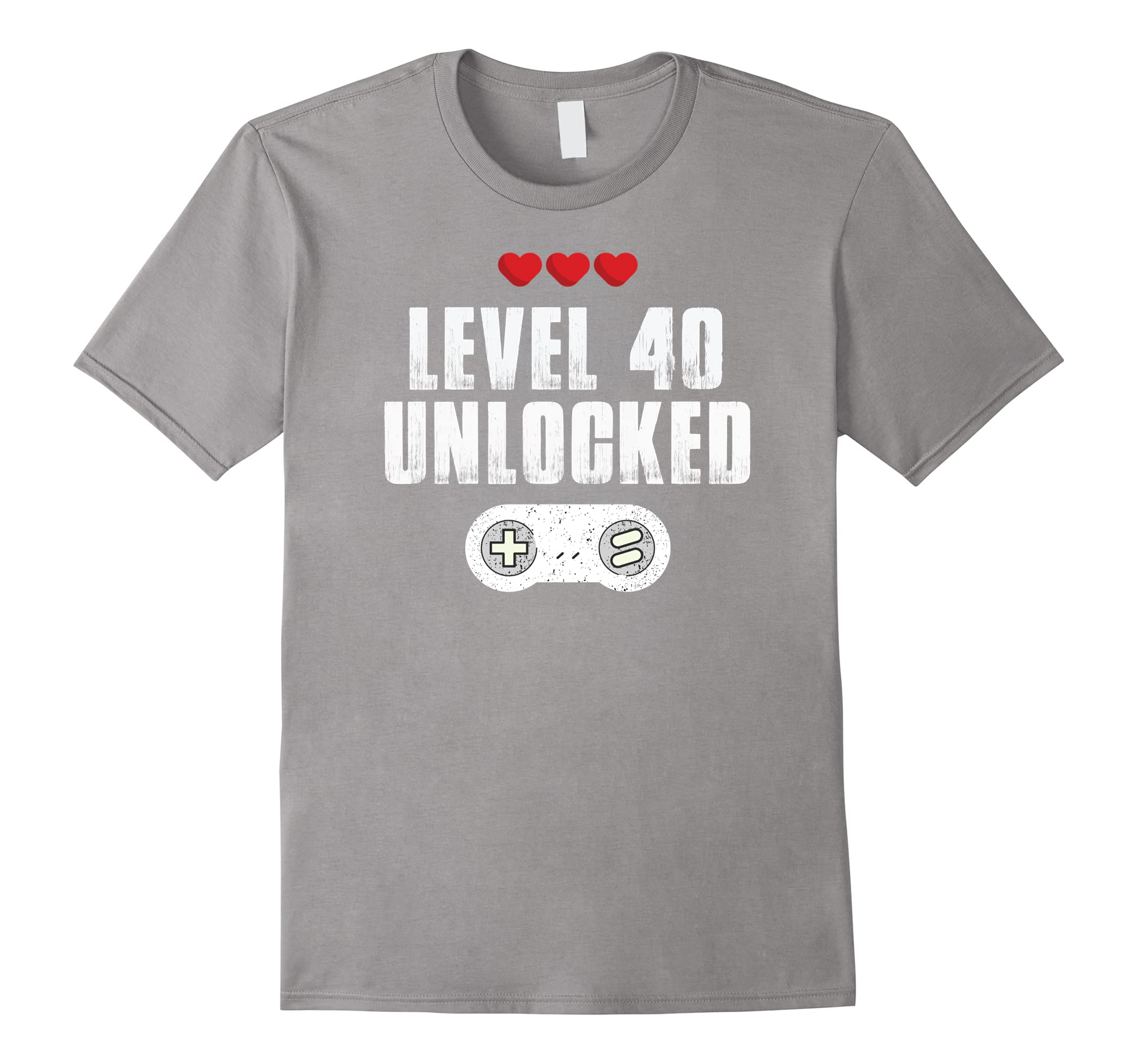 46848114 40th Birthday Gift for Men tshirt Gamer, Level 40 Unlocked-ah my shirt one