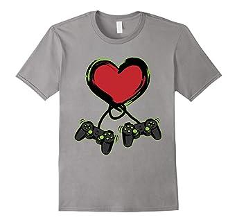 Valentines Day Shirt - Video Gamer Shirt - Controller Shirt