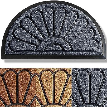 Details about  /Stone/&Flowers Pattern Absorbent Indoor Door Mats Shoe Scraper for Kitchen