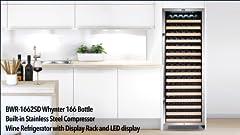 Amazon.com: KUPPET Compressor 36 Bottle Wine Cooler, Counter ...