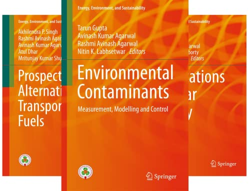 Energy, Environment, and Sustainability (46 Book Series)