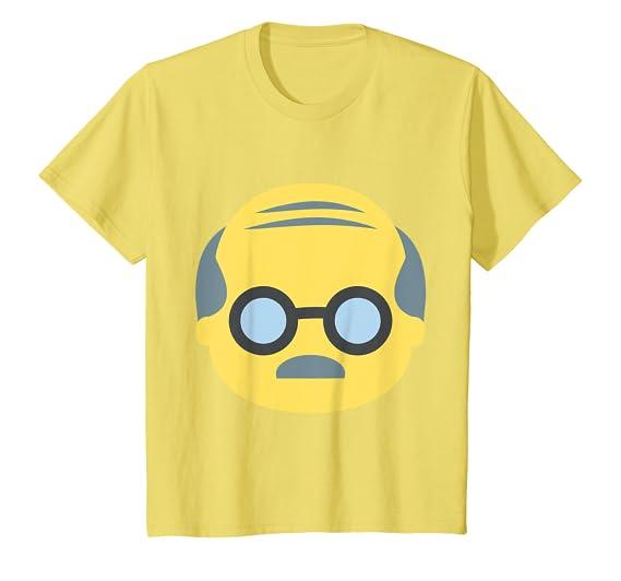 Amazon.com: Abuelo playera con cara de Emoji, Marino: Clothing