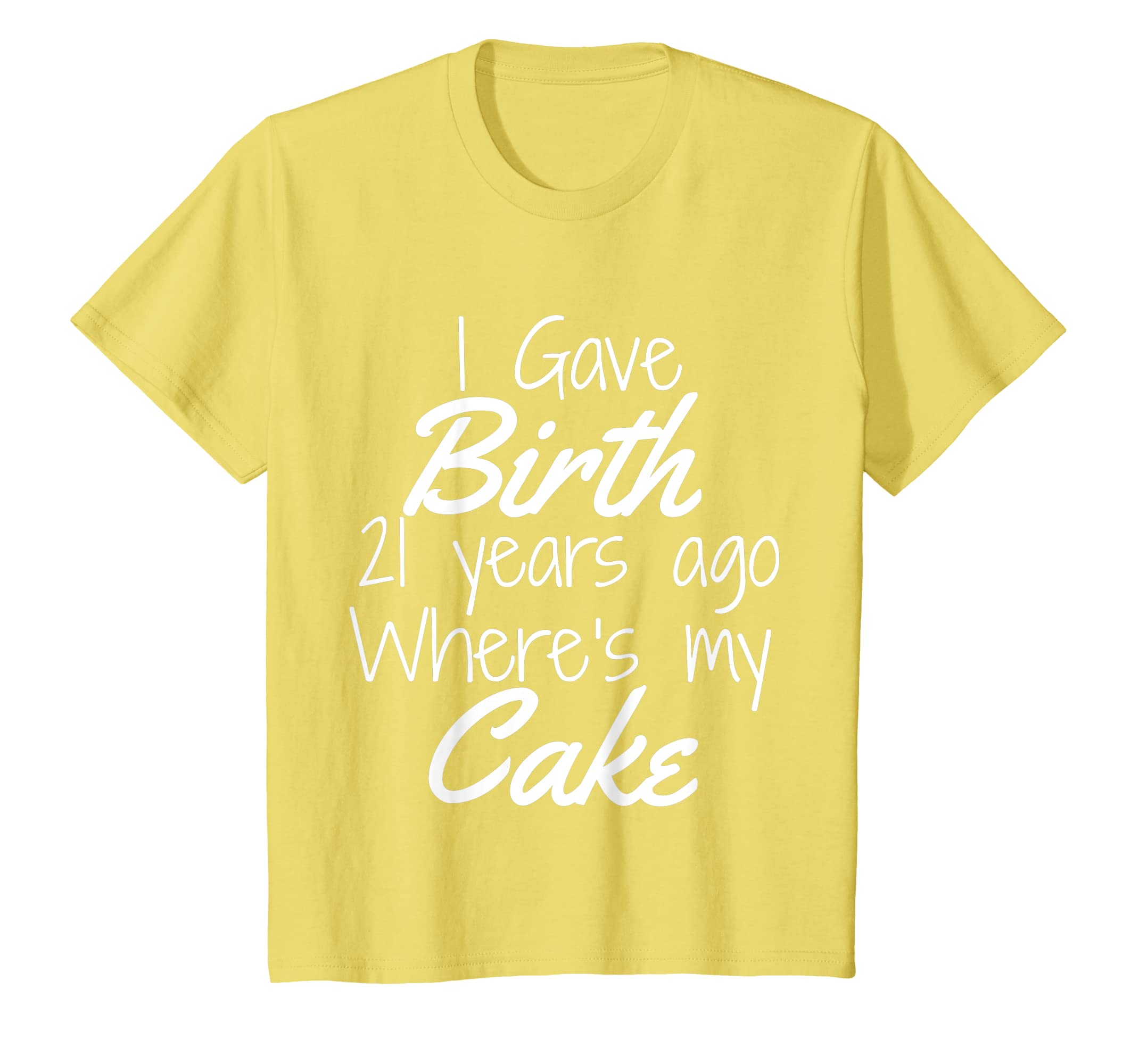 Amazon 21st Birthday Shirt Mom Of 21 Year Old Son Daughter Clothing