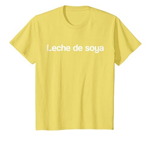 Amazon.com: Leche de Soya Camiseta con frases Veganos Vegetarianos: Clothing