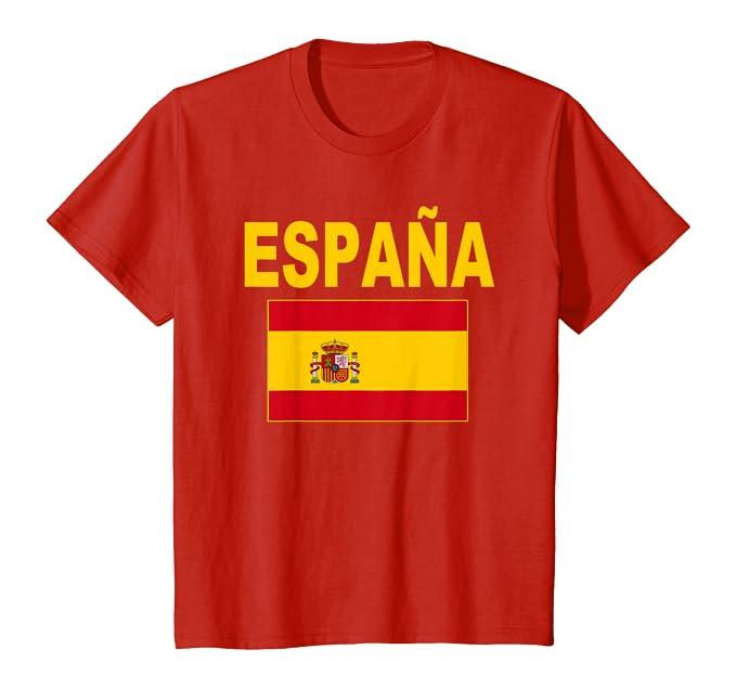 Bandera de España Spain Flag Banderas Españolas Hombre Mujer Camiseta: Amazon.es: Ropa y accesorios