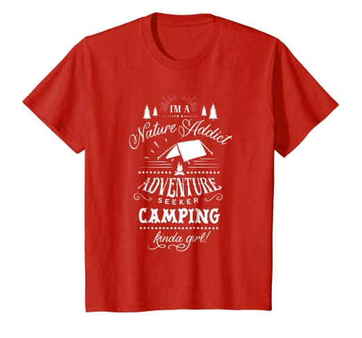 Amazon.com: Naturaleza Addict Aventurero Camping Kinda Girl ...