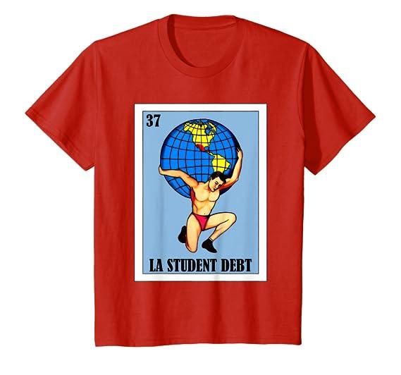 Amazon.com: Loteria Shirts - El Mundo Parody -La Student ...