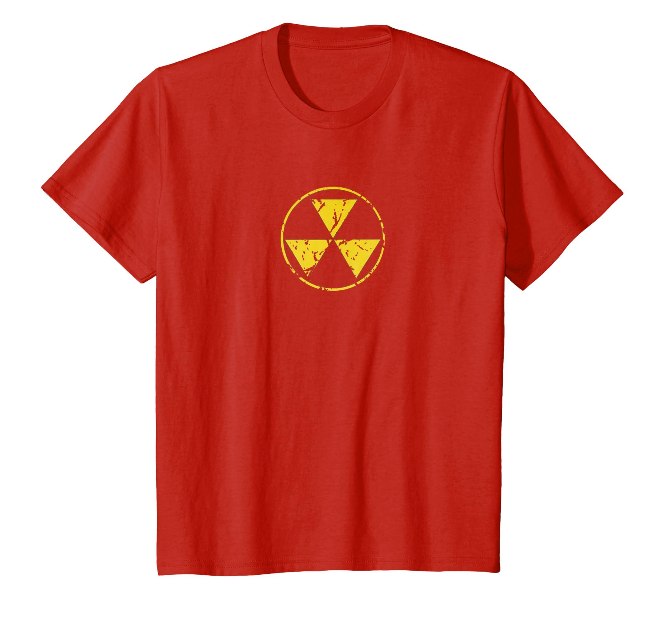Fallout Shelter Nostalgia >> Amazon Com Fallout Shelter Nuclear War Radiation Nostalgia T Shirt