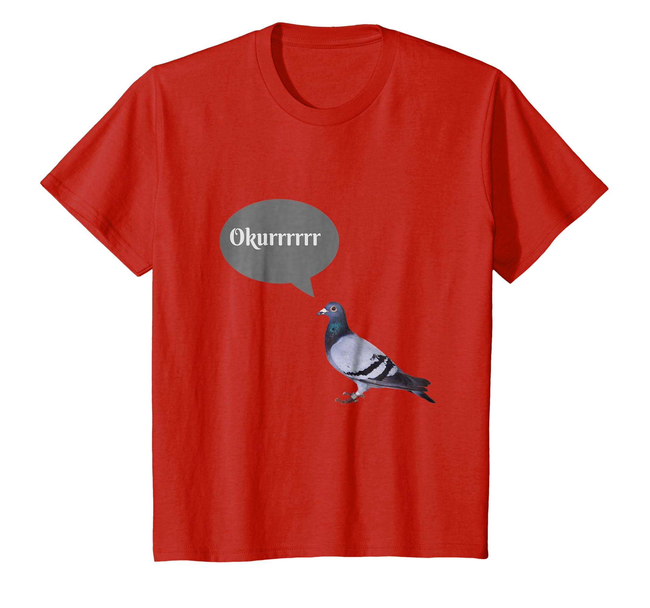 Okurrr Pigeon T shirt-Protee