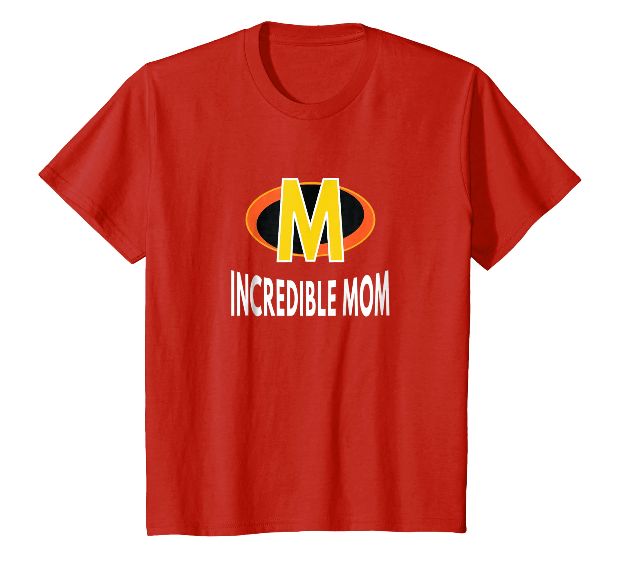 The Incredible Mom Superhero T Shirt for Women (Bold Text)