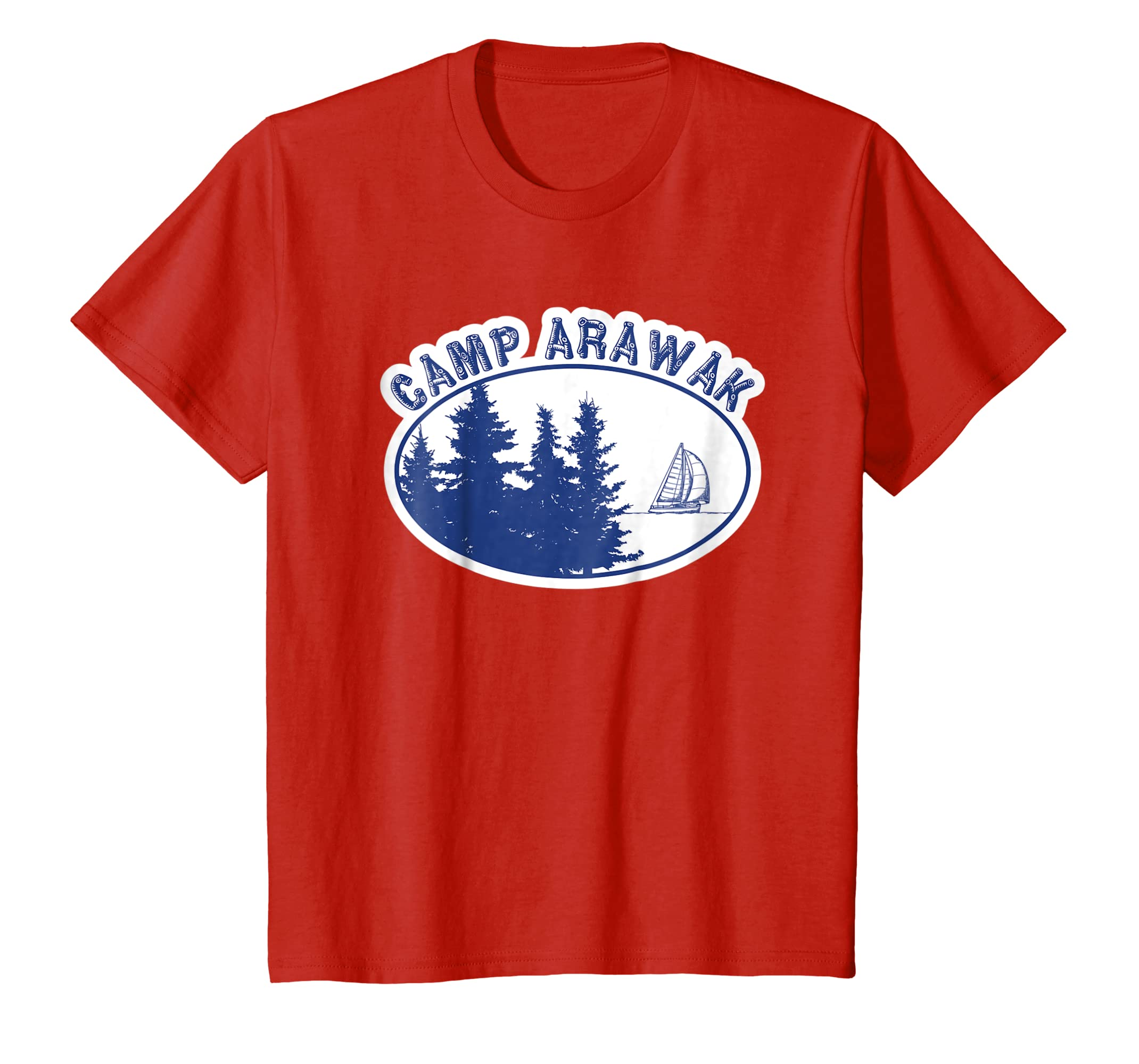 366de7c9690 Amazon.com  Camp Arawak Shirt Retro Summer Camp T-Shirt  Clothing
