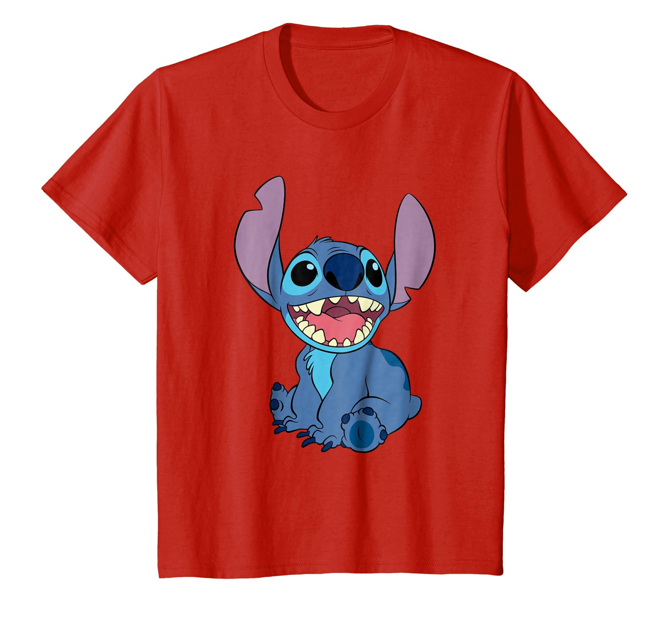 Lilo and Stitch Sitting T shirt-Colonhue