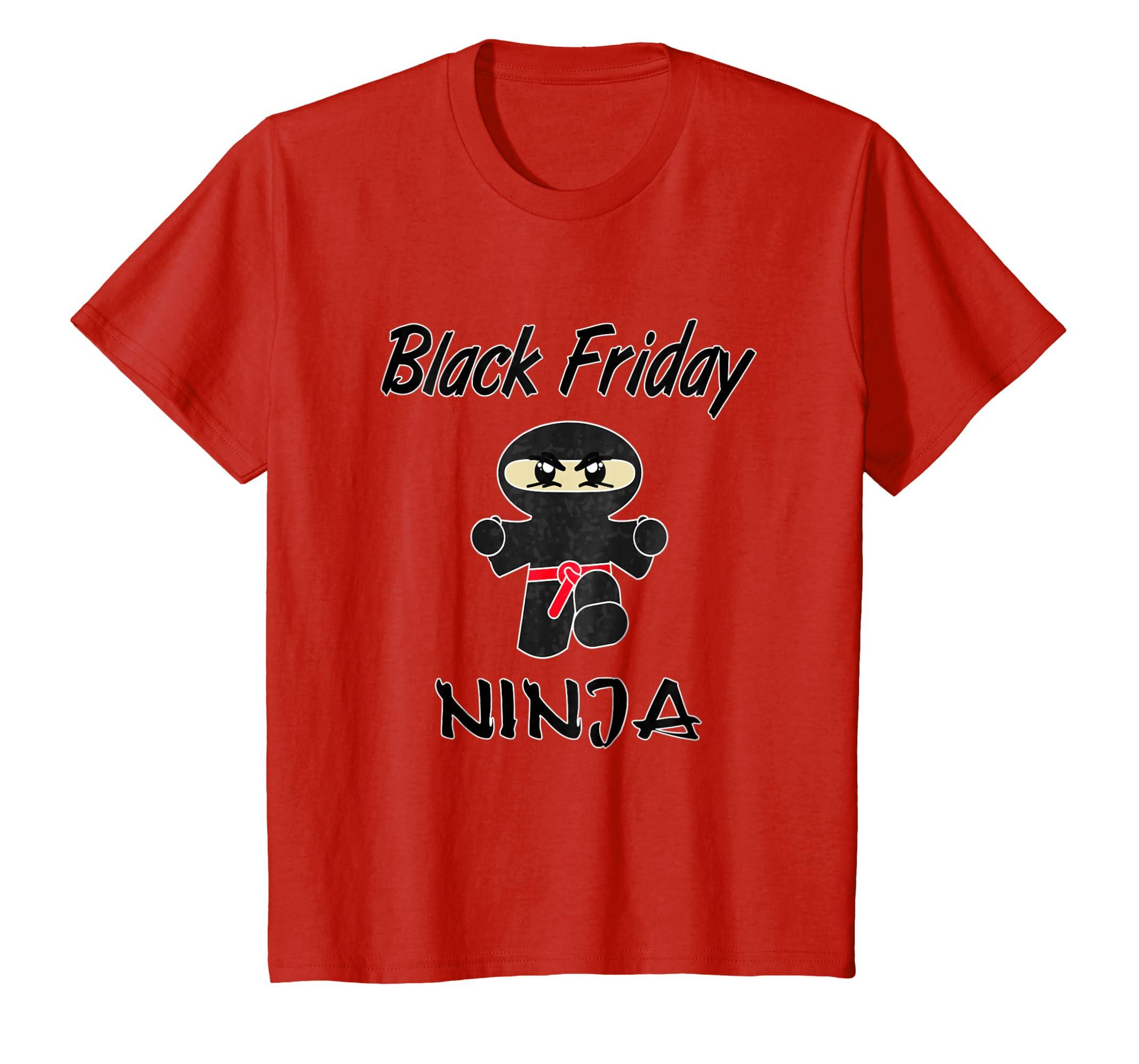 Amazon.com: Funny Black Friday Ninja T-Shirt For Holiday ...