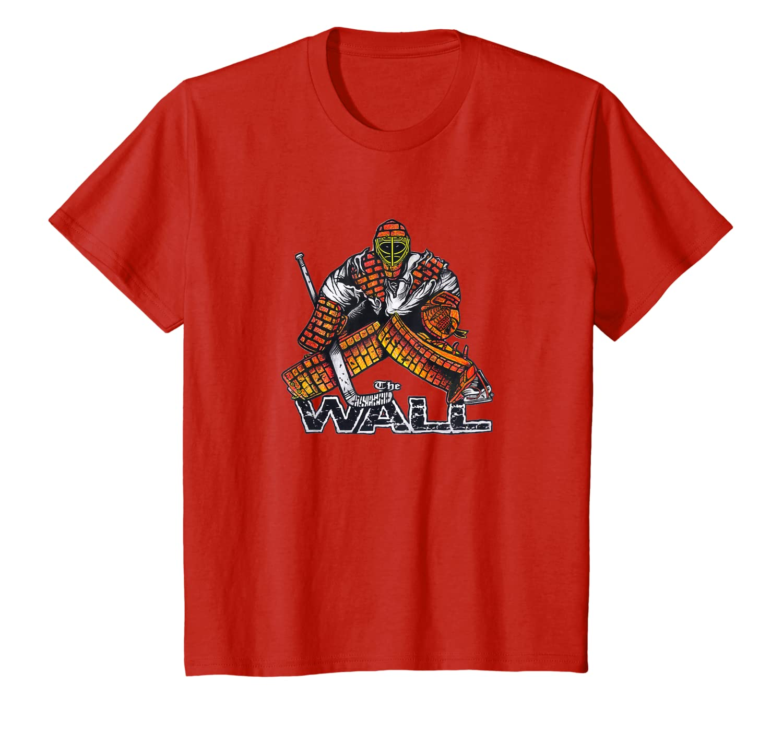 Amazon Com The Wall Hockey Goalie T Shirt Clothing